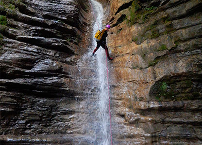 Canyoning in Benidorm