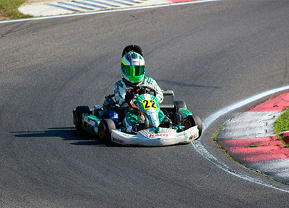 Kars racing in Benidorm