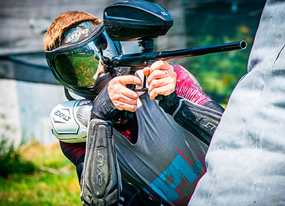 Where to play paintball in Benidorm