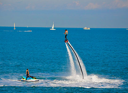 Flyboard in Benidorm