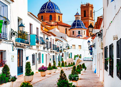 Turas and tours through Altea