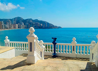 Routes and tours around Benidorm