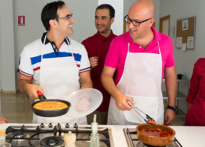 Workshop of paella and Spanish cuisine in Spain