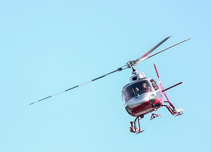 Helicopter trips in Benidorm